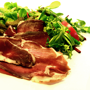 Premium quality oak smoked Lamb from Woodside Farm, Benenden.